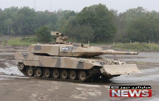 لئوپارد 2 ای 7 ساخت المان قویترین تانک جهان