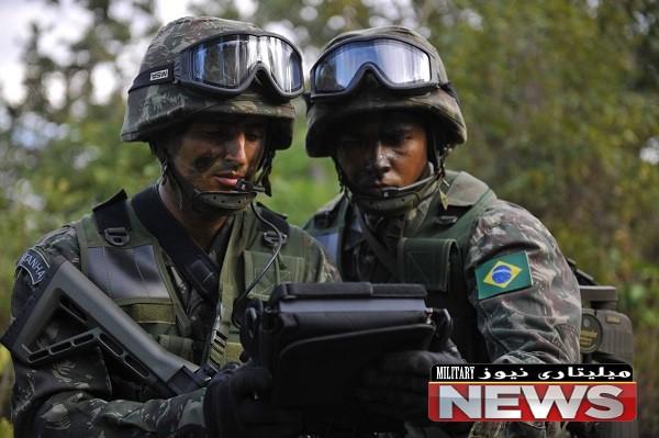 قدرت نظامی برزیل