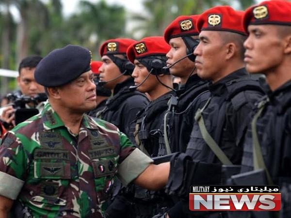 قدرت نظامی اندونزی