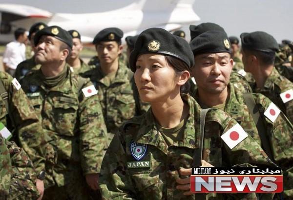 قدرت نظامی ژاپن